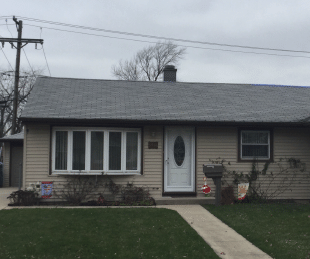 Roofing Replacement in Hometown, IL - Before Photo