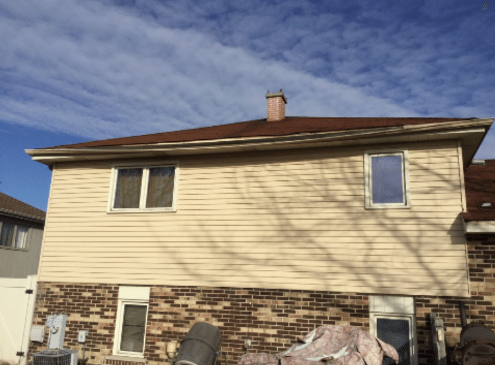 Gutter Repair Tinley Park IL - Before Photo