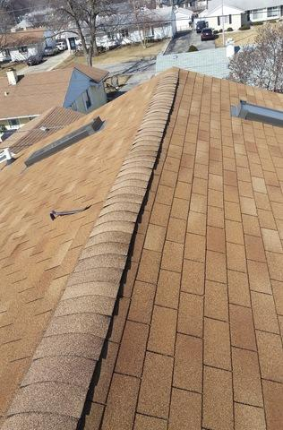 Roofing Shingle Repair in Hometown IL - After Photo