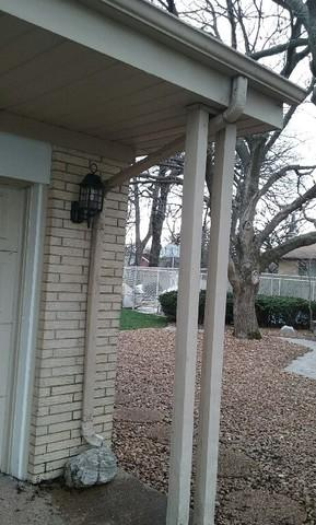 Gutter Repair Project in Palos Heights