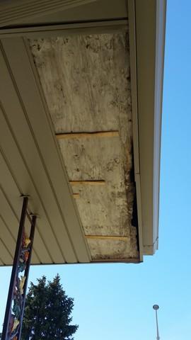 MIssing Soffit replaced-Oak Lawn, IL