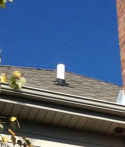 Lead Plumbing Flashing Replacement, Frankfort, IL - Before Photo