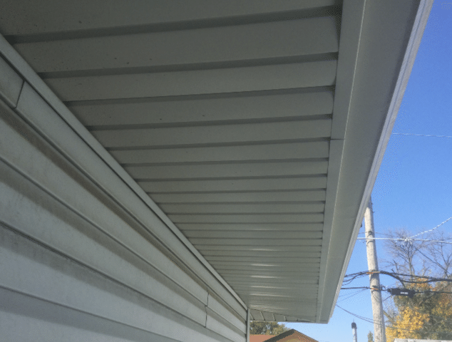 Hometown, IL Ventilation Repair - Before Photo
