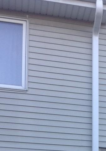 Downspouts Replaced in Orland Park, IL - After Photo