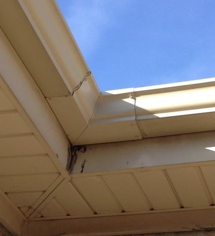 Corner Gutter Repair in Orland Park, IL