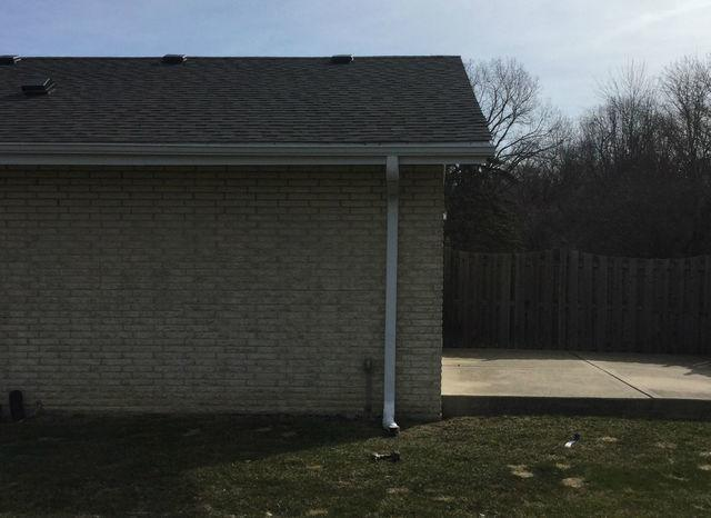 Gutter Pitching in Palos Heights, IL - After Photo