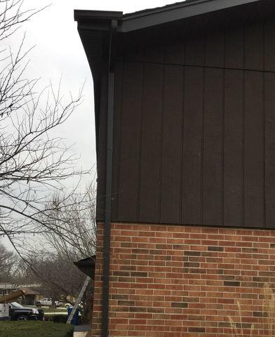 Downspout installation in Palos Heights. IL - After Photo
