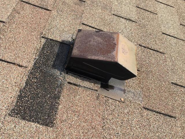 Orland Park Vent Replacement and shingle repair