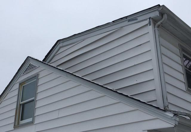 Buckling Siding Repair in Frankfort