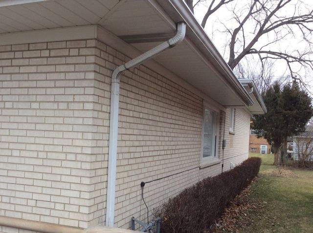 Downspout Repair - Oak Lawn, IL - After Photo