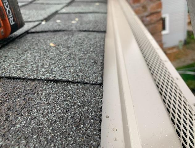 Gutter Guard install in Oak Lawn, IL