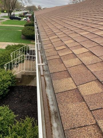 Tinley Park, IL Gutter Guards - Before Photo