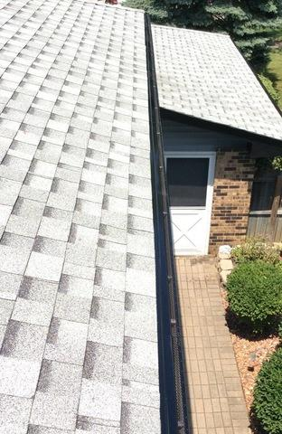 Gutter guards in Orland Park, IL - After Photo