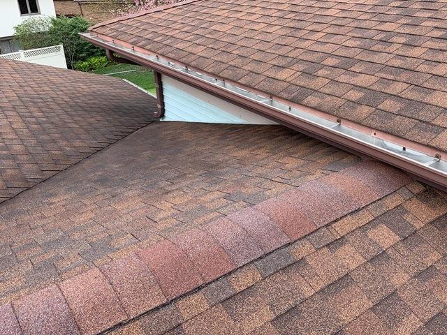 Repairing a roof leak in Tinley Park, IL