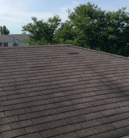 Missing shingle repair in Lockport, IL