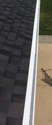 Gutter Guard install in Chicago Ridge