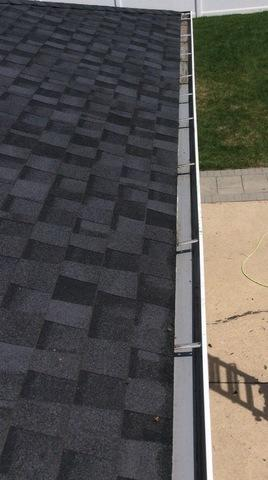 Gutter Guard install in Chicago Ridge - Before Photo