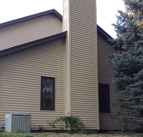 Siding damage in Orland Park, IL
