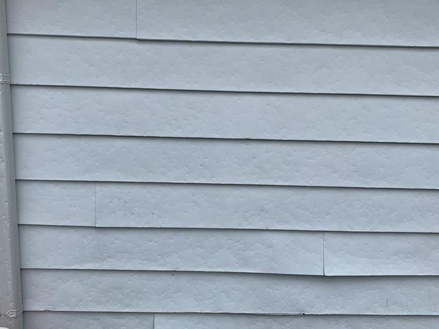 Hail damage to roof and siding in Chicago Ridge, IL