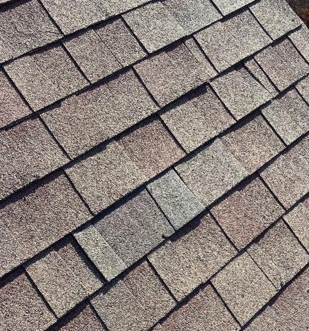 Repaired missing shingle in Mokena, IL