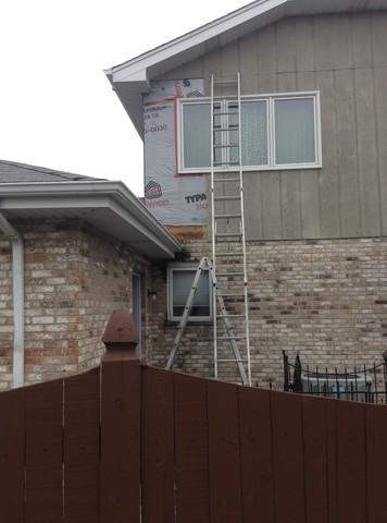 Homer Glen IL Gutter Downspout replacement project