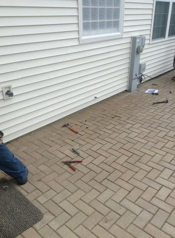 Vinyl Siding Repair project in Crest Hill, IL