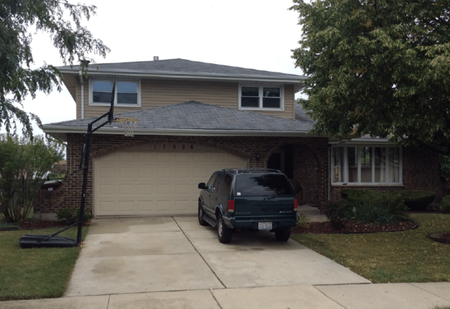 Tinley Park IL Roof project due to hail damage