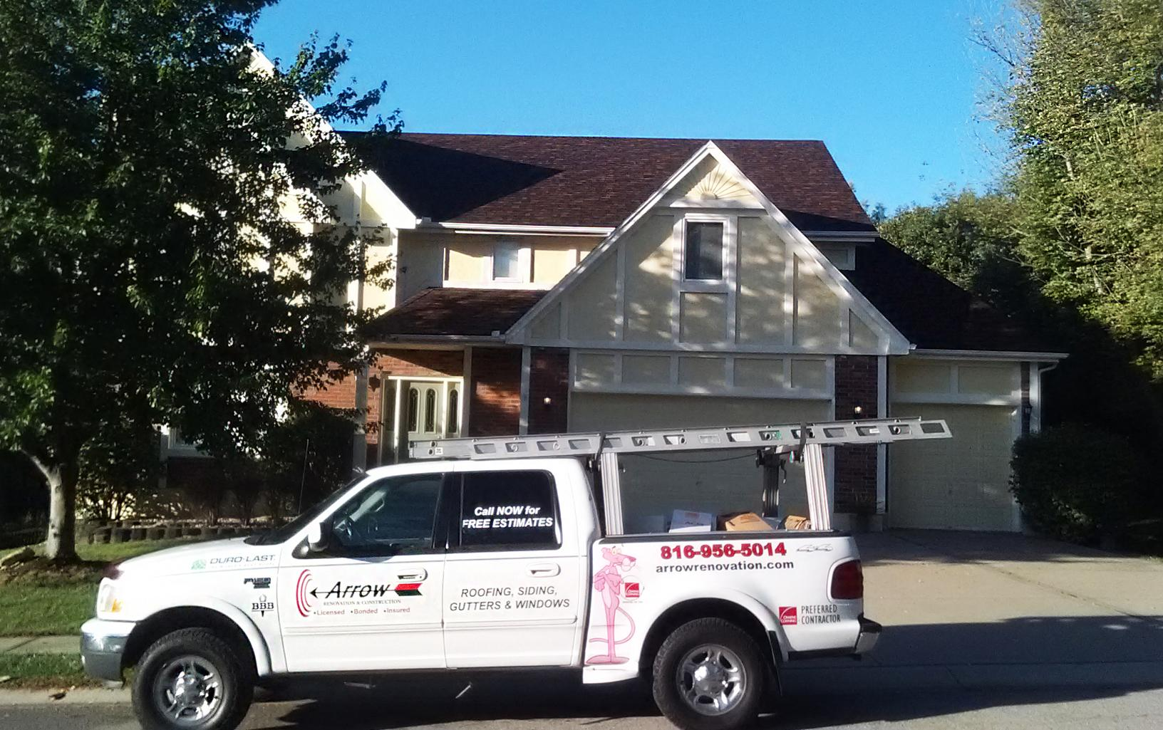 Roof Replacement Company in Blue Springs, MO - After Photo