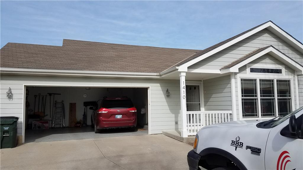 Roof Replacement in Lawrence, Kansas - Before Photo