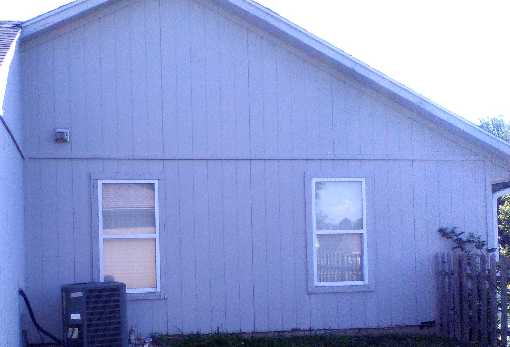 Independence, MO Home gets New Windows, Gutters & Paint - Before Photo