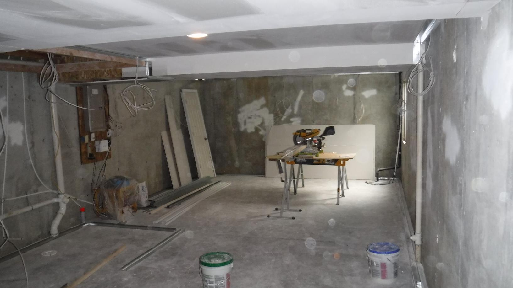 Total Basement Finishing at home in Lee's Summit, MO - Before Photo