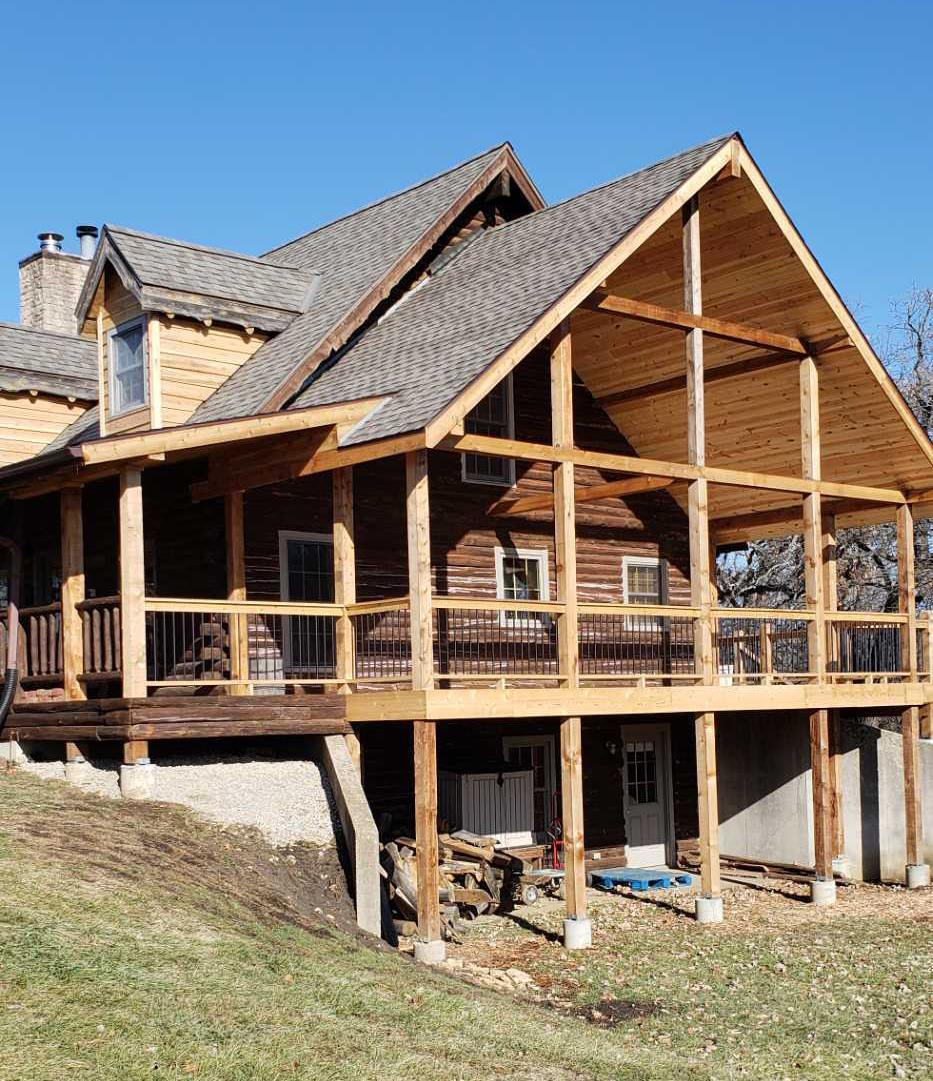 Large Deck Build in Lawrence, KS - After Photo