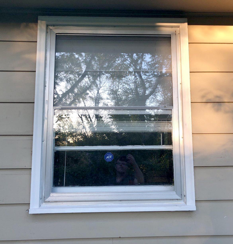 Window Installation at Kansas City, MO Home - Before Photo