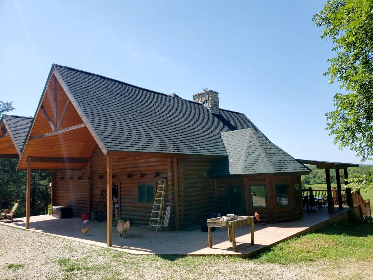 New Roof Installed at Home in Ottawa, KS - After Photo