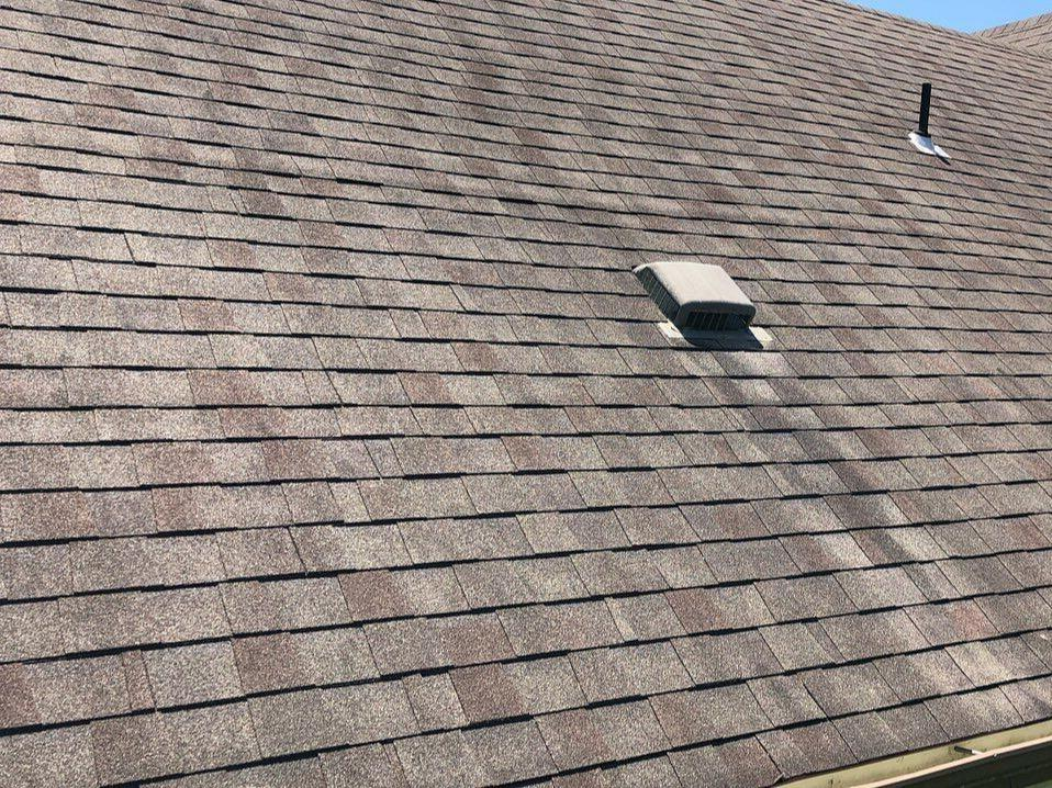 Roof Replacement for Tonganoxie, KS Home - Before Photo