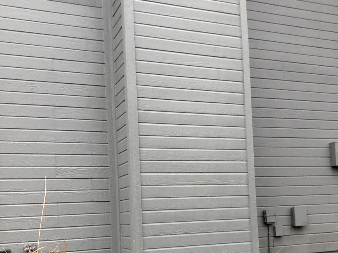Chimney/Siding Wood Rot Fixed on Overland Park, KS Home - After Photo