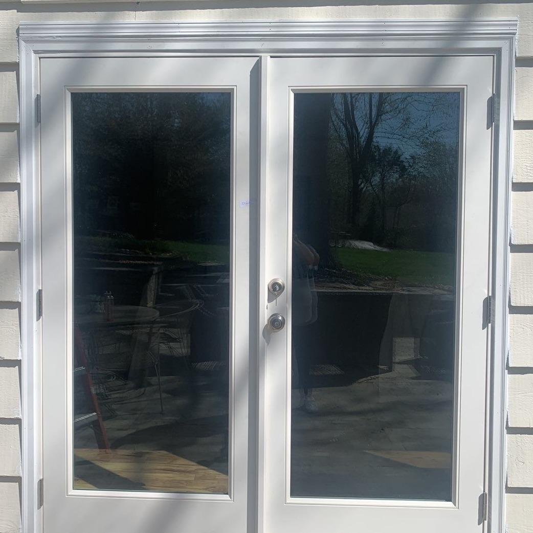 French Steel Door on Leawood, KS Home - After Photo