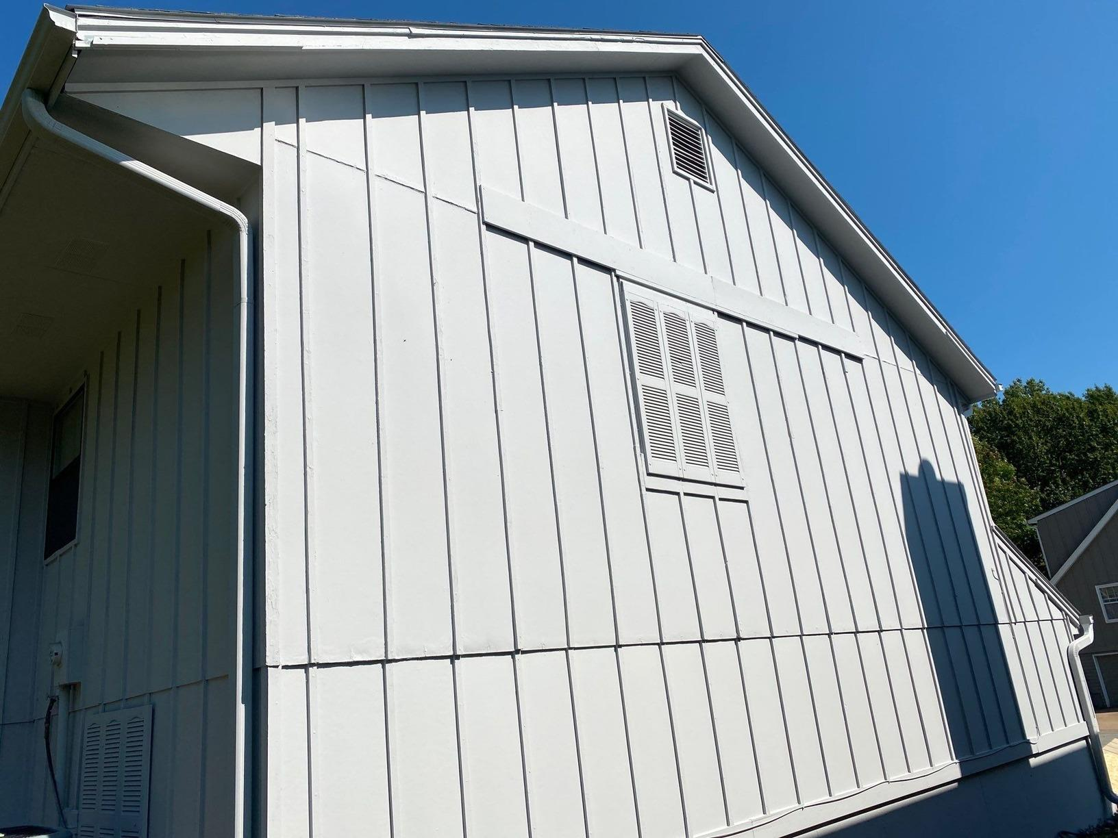Exterior Paint and Siding Repair on Grandview, MO Home - After Photo