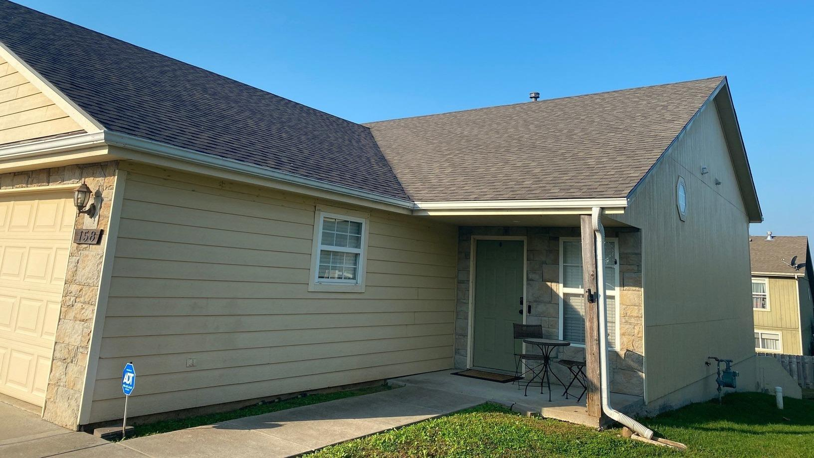 Leaking Roof in Tonganoxie, KS is Repaired by Arrow Renovation - After Photo