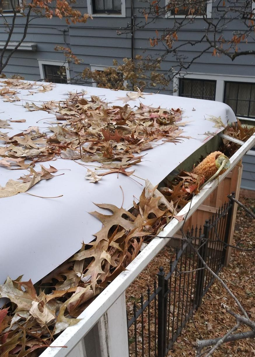 Flat Roof (TPO) Installed on Home in Kansas City, MO - After Photo