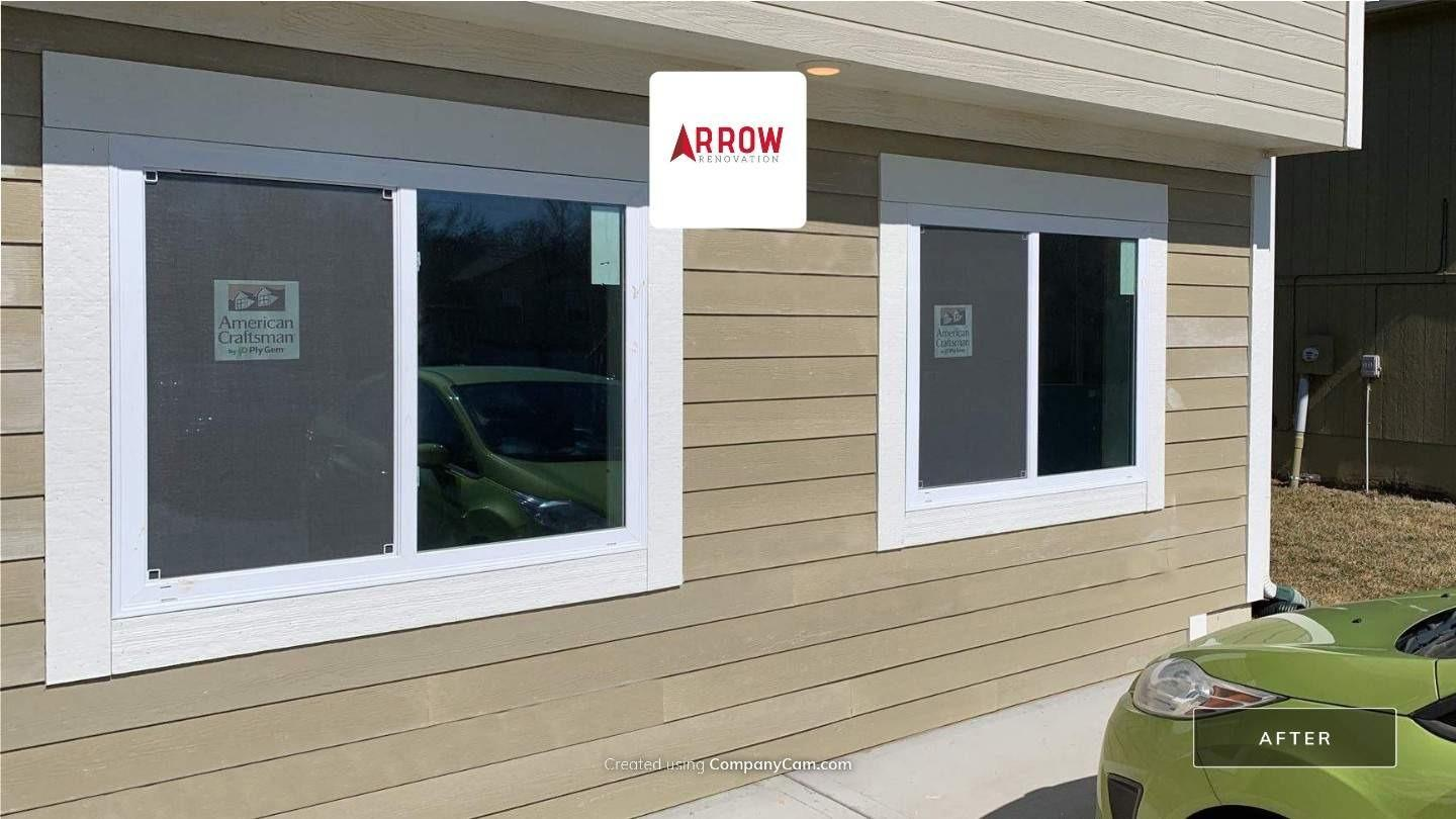 Garage Remodeled Into a Living Space at a Home in Raytown, MO - After Photo