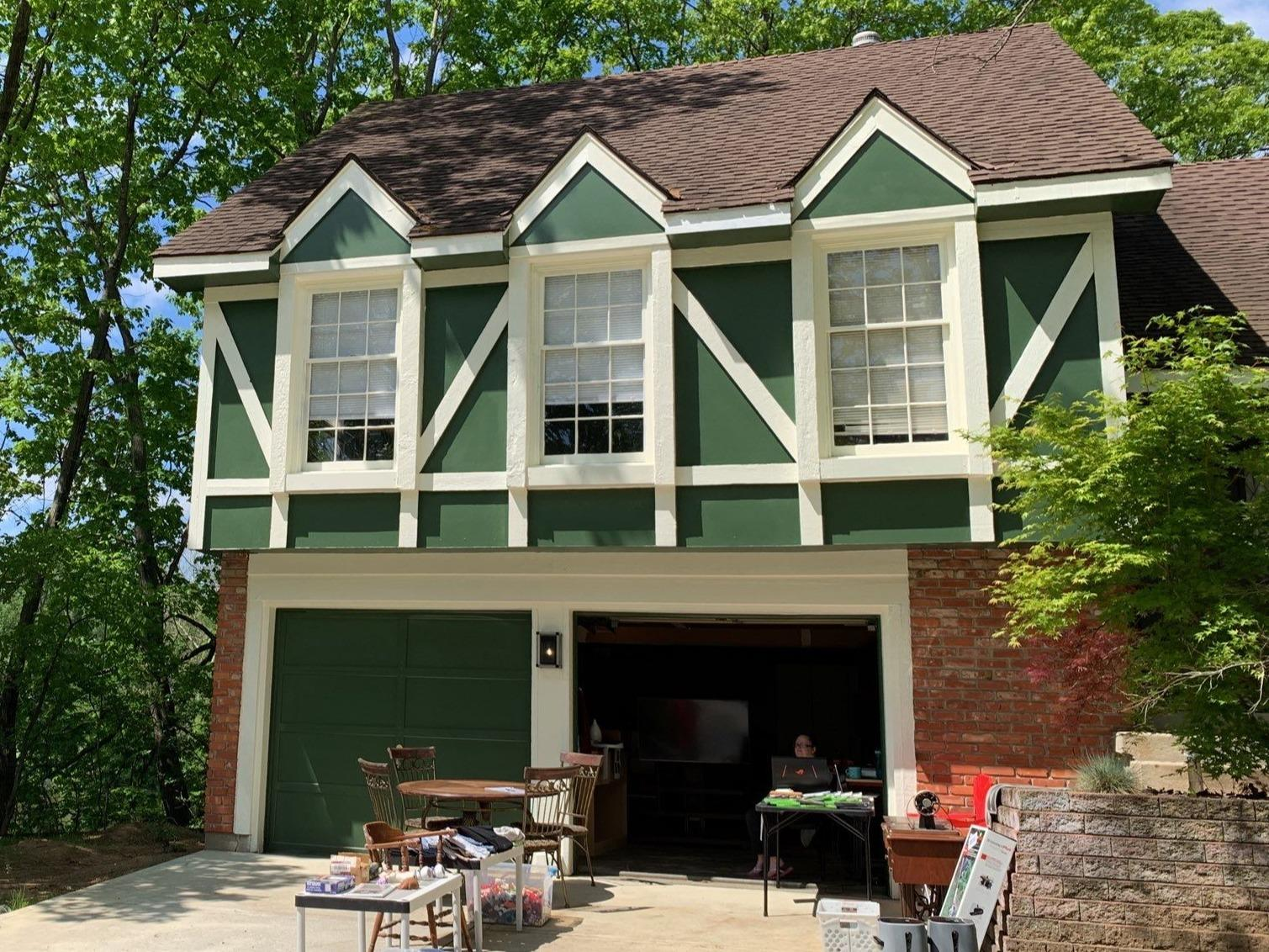 Exterior Paint and Gutters on Kansas City, MO Home - After Photo