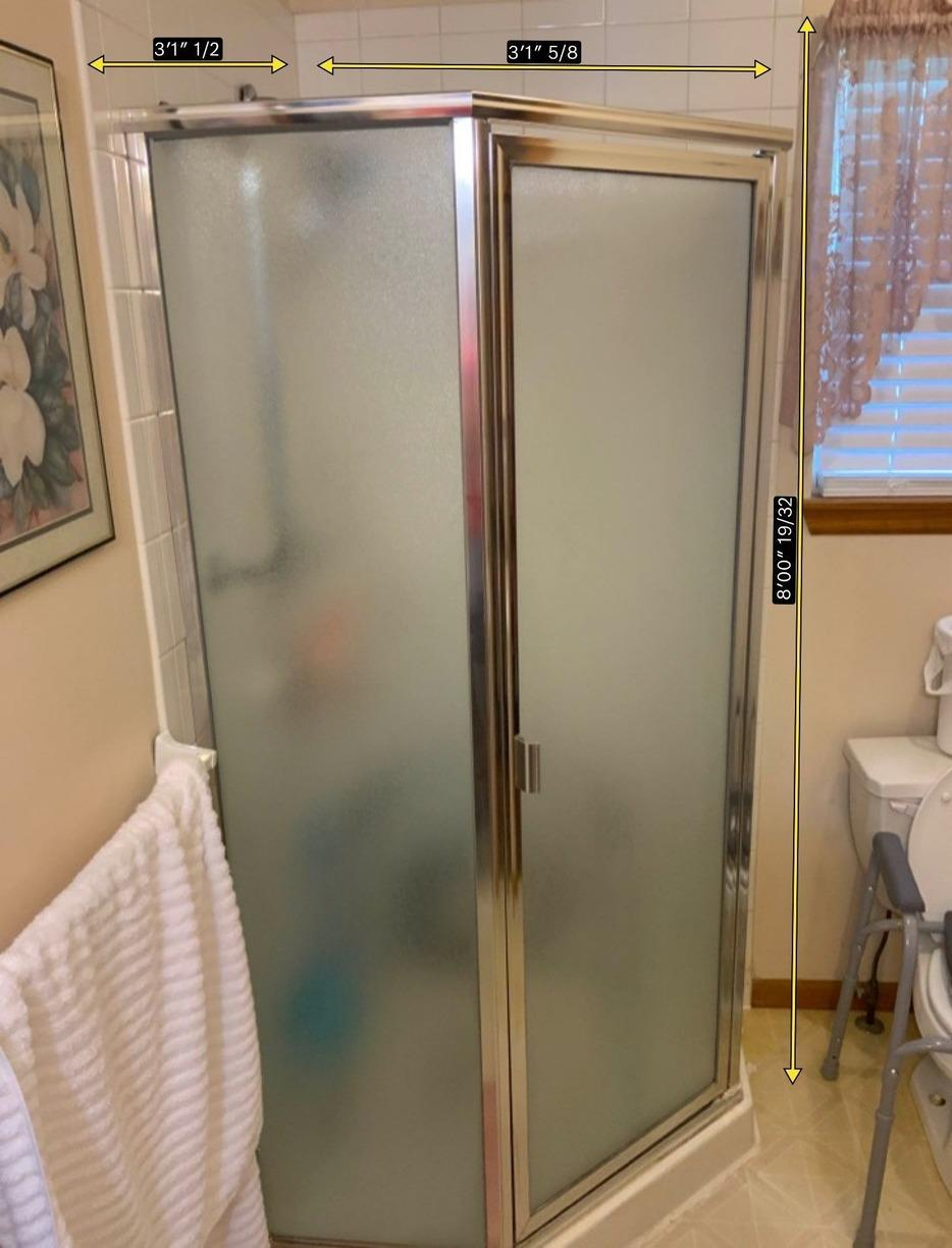 New Shower installation in a Kansas City, MO Home - Before Photo