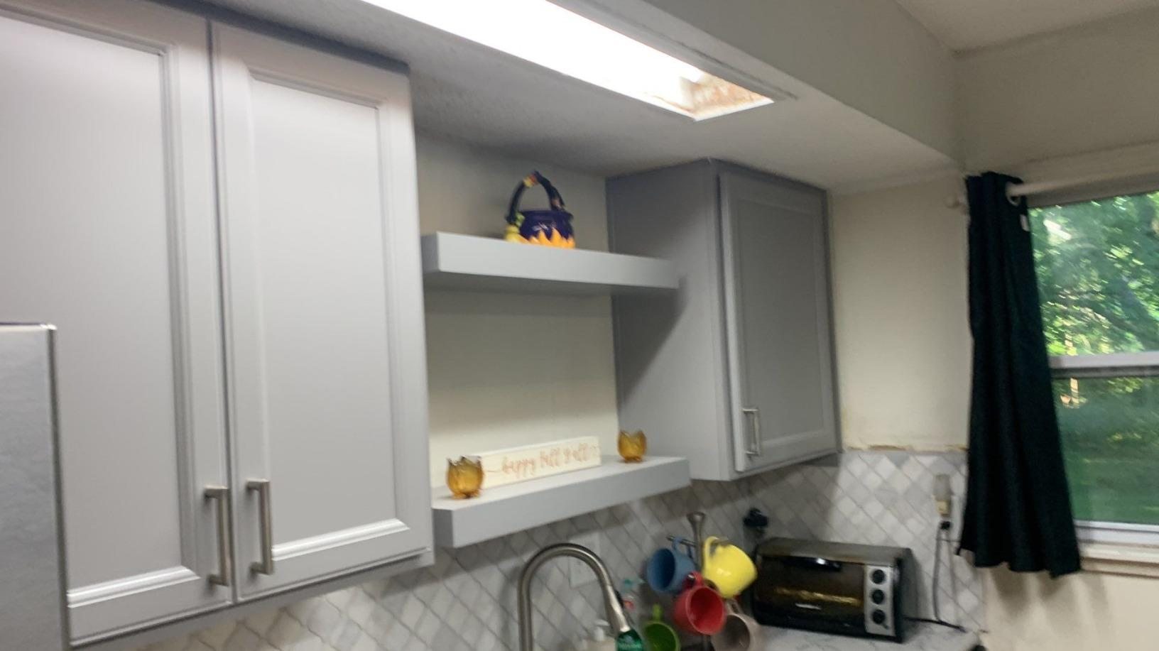 Cabinet (Gray) Installation in a Kitchen in Kansas City, MO - After Photo
