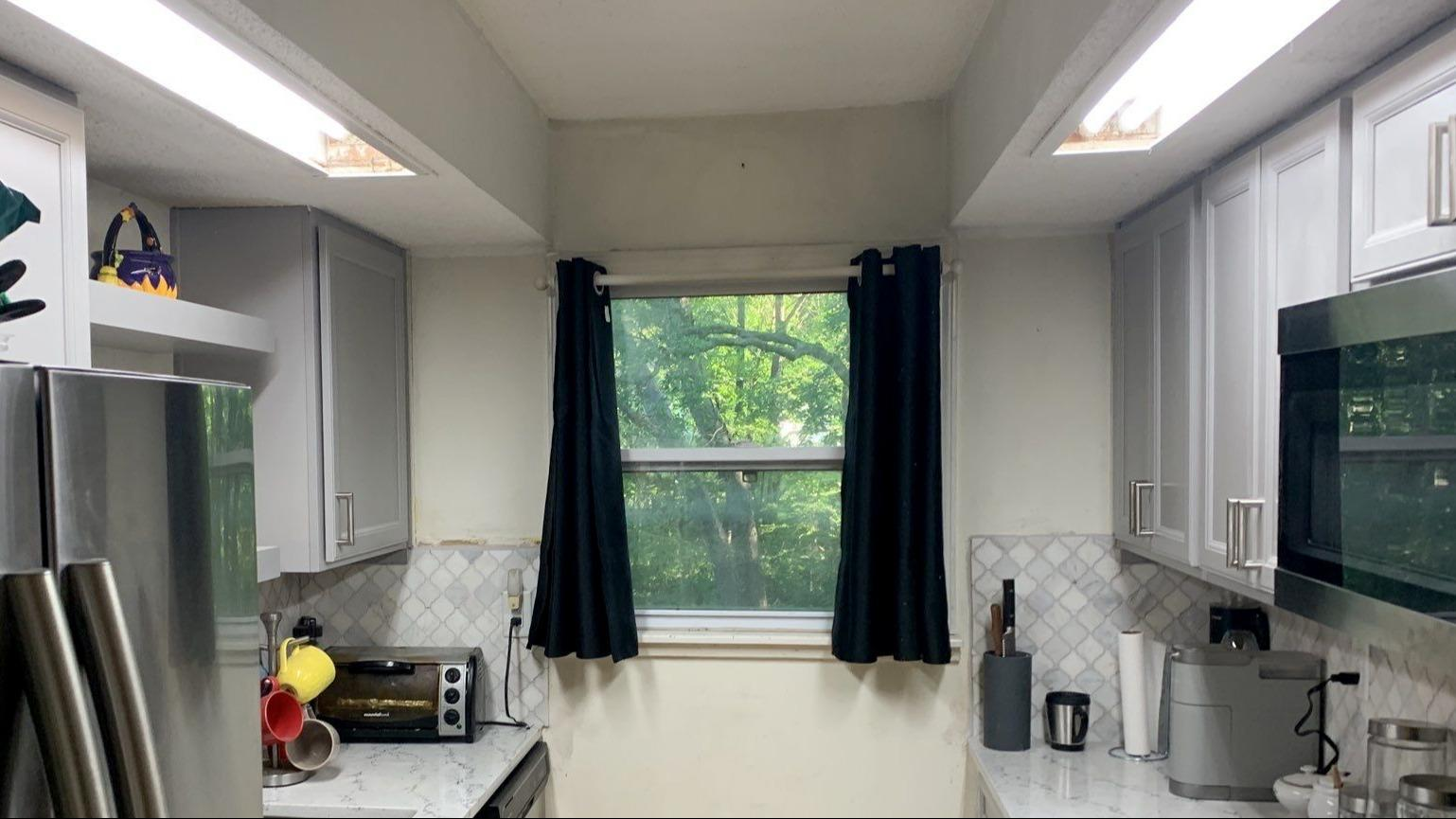Granite Countertops and Backsplash Put in a Kitchen in Kansas City, MO - After Photo