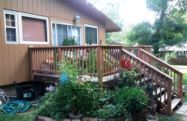 New Deck Rails Installed in Prairie Village, KS