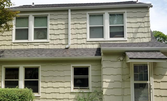 Kansas City, MO Home with New Aluminum Seamless Gutters