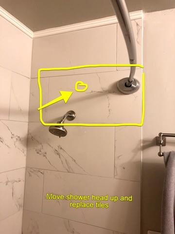 Shower & Tub Valve Replacement and Tile Installation in Overland Park, KS