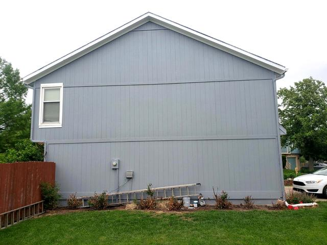 LP Grooved Siding Replaced at Gardner, KS Home - After Photo