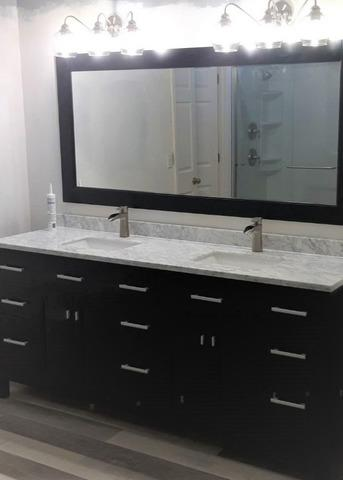 Bathroom Redesign Layout a Complete Remodel in Overland Park KS
